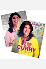 Anjum Anand 2 book set (Anjum's New Indian, I love Curry) Hardcover