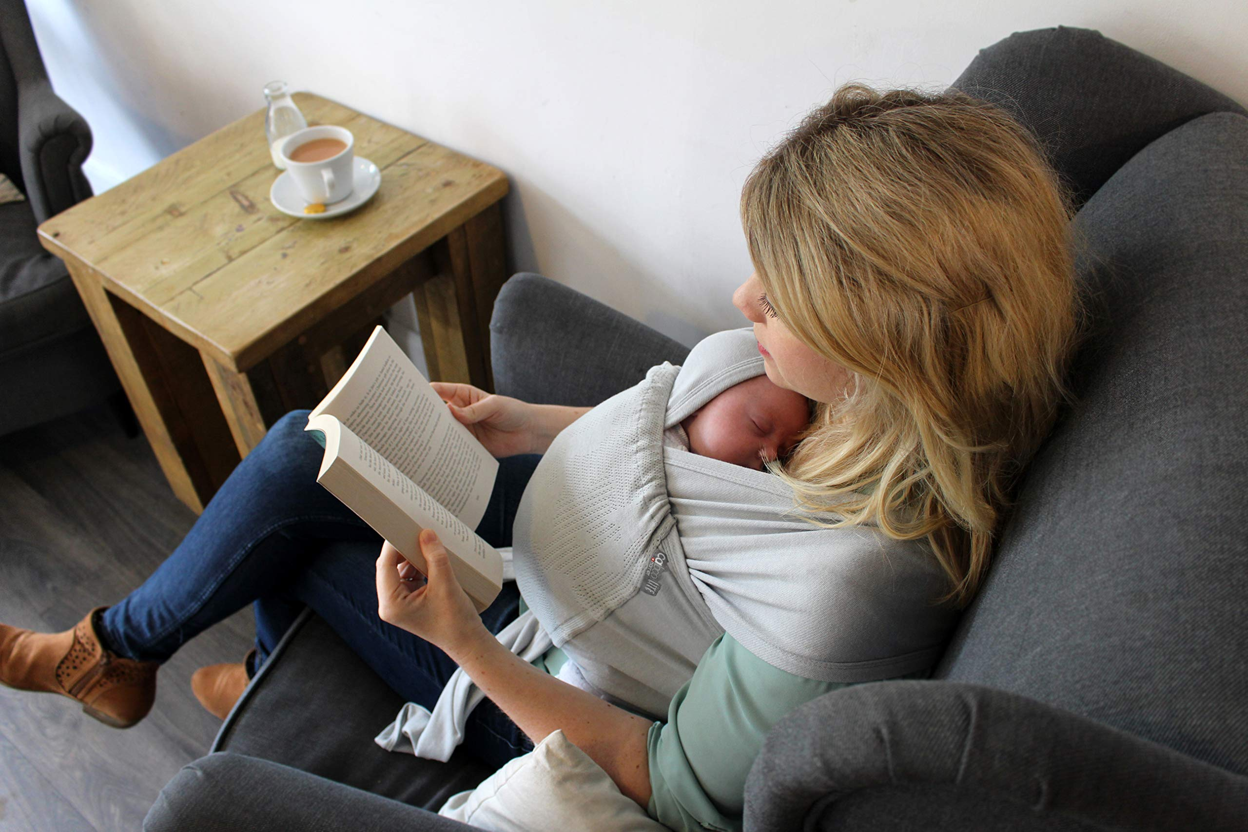 Caboo Lite Multi Positional Baby Carrier, Jungle Close Parent Ltd