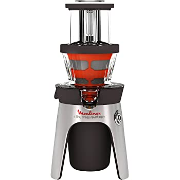 Moulinex ZU500A10 - juice makers (Black, Stainless steel)