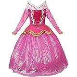 JerrisApparel Vestito Principessa Rosa Costume Vestito da Partito Ragazza Cerimonia