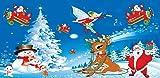 Weihnachten Spiele für Kinder - lustige und lehrreiche Puzzle Lernspiel für Vorschulkindergarten oder Kleinkinder, Jungen und Mädchen jeden Alters -