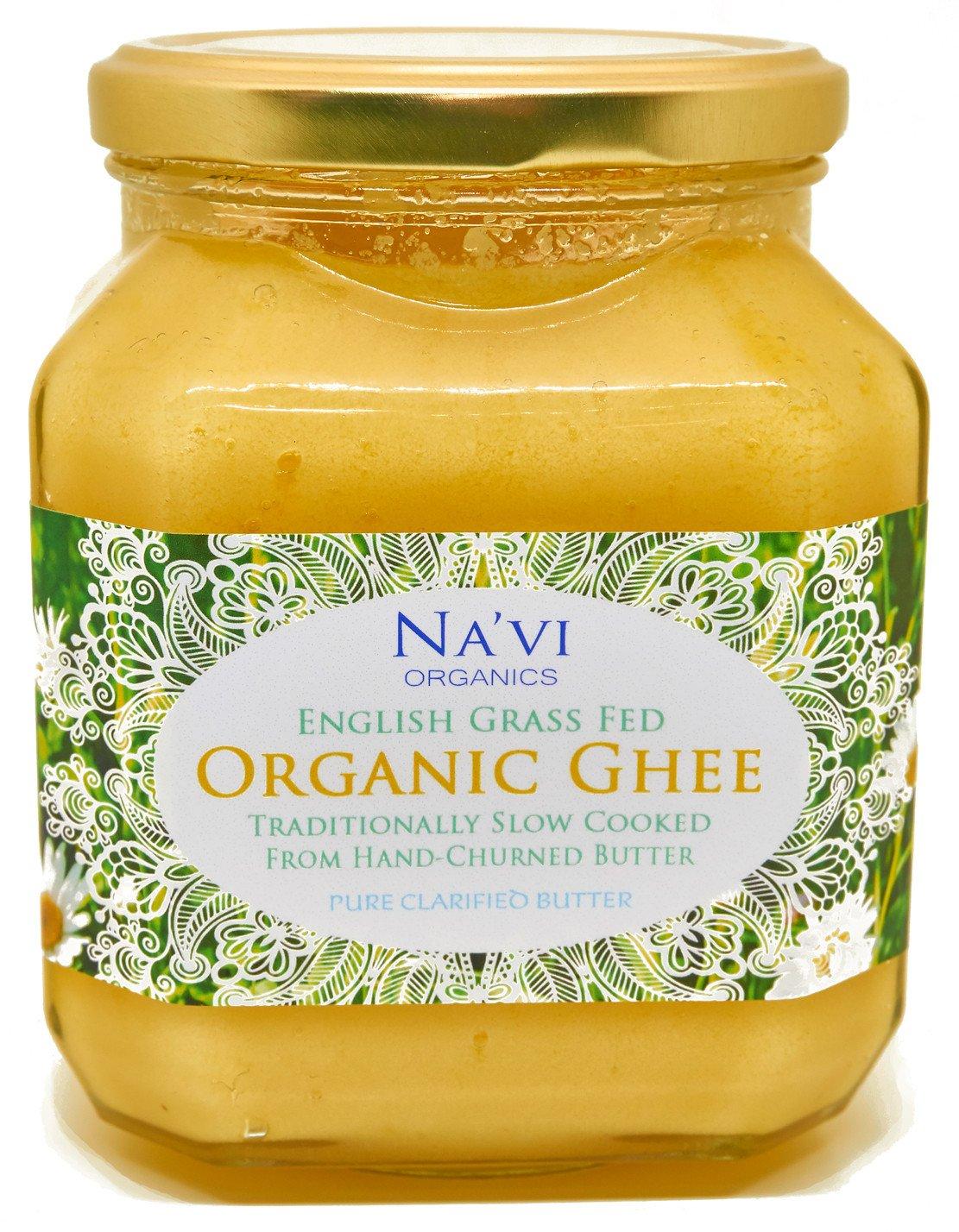 Organic Certified - Grass Fed - English Ghee (350 ml) 1