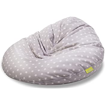 Sitting Point Sitzsack Fluffy Stars Xl Ca 220 Liter Grau Amazonde