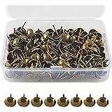 ✮LEVENSLANGE GARANTIE✮-CZ Store®- Stofferingsnagel|150 PCS|- bekledingsnagel 17X11 MM- bronzen bekledingsnagel voor fauteuil/