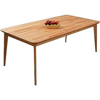 stylischer echt eiche esstisch hygge 160cm skandinavisches. Black Bedroom Furniture Sets. Home Design Ideas