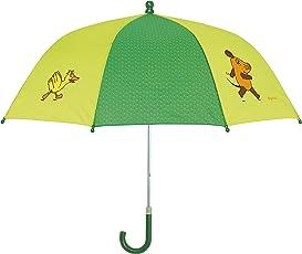 Playshoes MAUS Unisex Regenschirm Maus, Elefant und Ente, Die Sendung mit der Maus