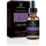 Aceite esencial de lavanda, Mindbreaker 100% el aceite esencial del grado terapéutico orgánico puro, consigue un mejor sueño,