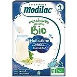 Modilac Mes Céréales du Soir Bio Dès 4 Mois Nuit Calme 250 g