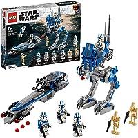 LEGO 75280 Star Wars Les Clone Troopers de la 501ème légion et Marcheur at-RT
