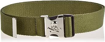 Urban Classics Skull Buckle Belt Cintura Unisex-Adulto