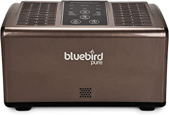 Bluebird Pure™ NaturO2 Dual Core Side Air Blower and Filter- 4 Stage Filtration (Photo catalyst, Active Carbon, HEPA, Ionizer)