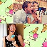 Collage di foto di gelato