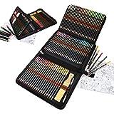 Crayons Couleurs de Dessin,96 pcs Crayon de Croquis et Crayons de Couleur -Taillés pour Coloriage et Dessin,Idéal Pour Les Ar
