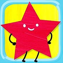 Formen-Puzzle für Kinder - Kreise, Dreiecke, Rechtecke und vieles mehr! Vorschule und Kindergarten, Formen- und Farblernspiel für Kinder und Kleinkinder