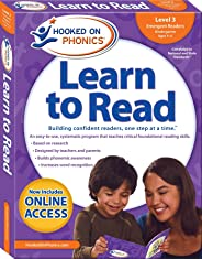 Hooked on Phonics Learn to Read - Level 3: Emergent Readers (Kindergarten - Ages 4-6)