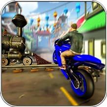 Motocross Freestyle Train Bike Stunt 2018