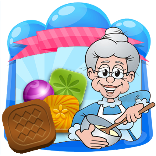 Happy Granny Candy Match 3 - Help Mrs Smith match the candies !