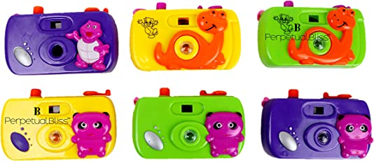 Laxmi Collection Fancy Small Size Toy Camera For Kids With Revolving Image Inside(Pack Of 12)