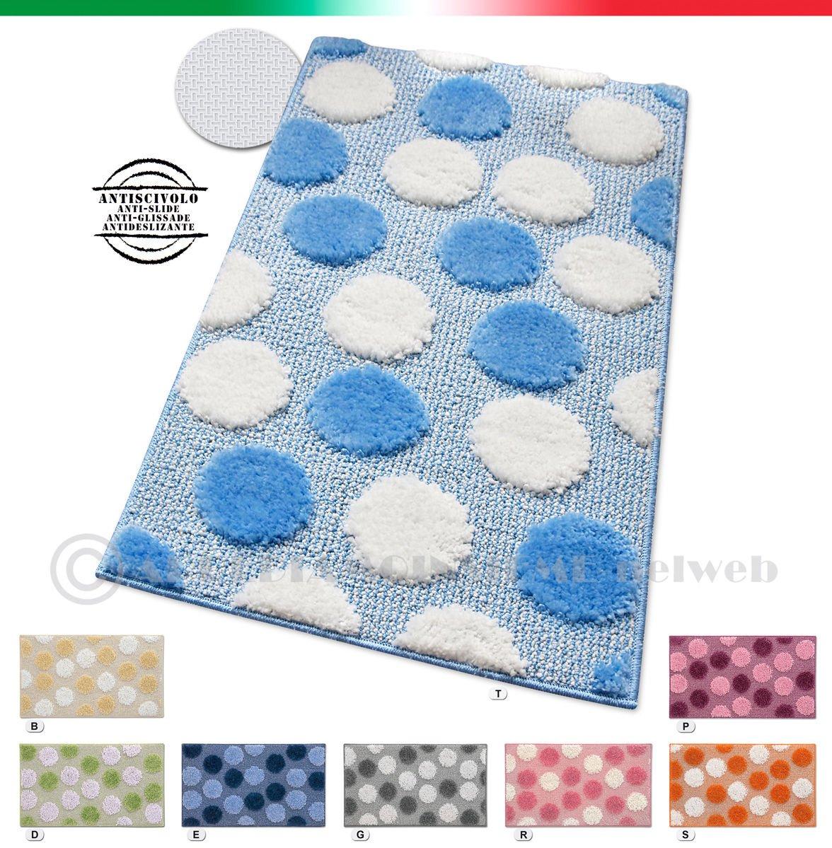Tappeto bagno design tappeto bagno con bordi a contrasto for Amazon tappeti bagno