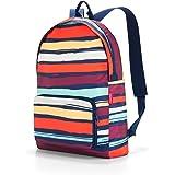 reisenthel mini maxi rucksack artist stripes Maße: 30 x 45 x 11 cm/ Volumen: 14 l / waschbar bei 30 °C