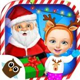 Sweet Baby Girl Christmas Fun 2 – Santa's Village & Winter Crafts