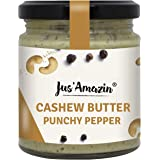 JUS' AMAZIN High Protein, Vegan, Cholesterol-free, Dairy-free, Soy-free, Gluten-free, Natural, Plant-Based Punchy Pepper Cash