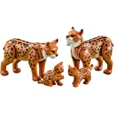 Playmobil Add On 6540 Lynx Family