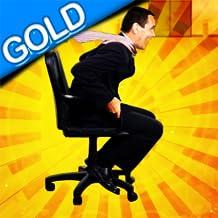 sedia da ufficio gara: lo staff azione a rotazione sala pausa - gold edition