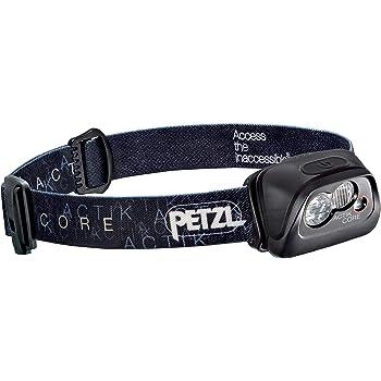 Petzl Actik Core Linterna Frontal, Unisex Adulto, Negro, Talla Única