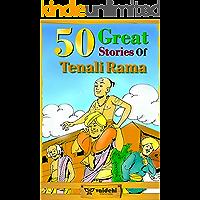 50 Great Stories of Tenali Rama: classic Humorous Tenali Rama stories collection with illuatration.