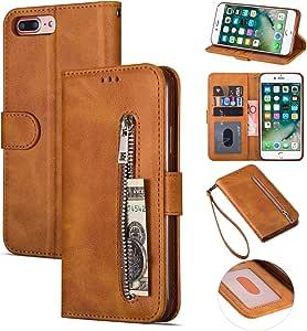 Ztofera Iphone 7 Hülle Flip Leder Magnetisch Folio Elektronik