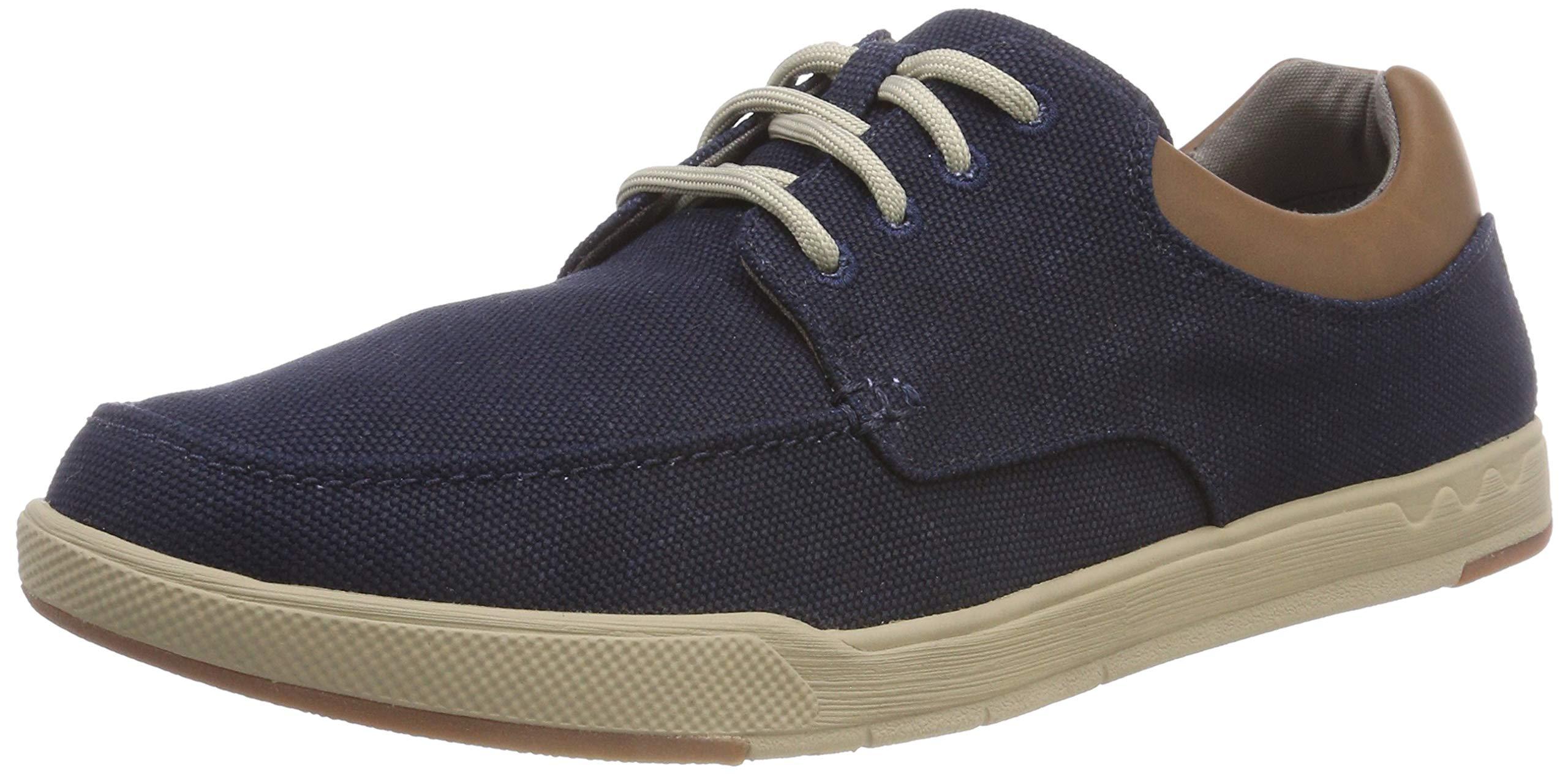 Clarks Step Isle Lace, Zapatos de Cordones Derby Hombre, 6.5