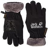Jack Wolfskin Kinder Softshell Highloft Glove Kids Handschuhe, schwarz (Black),