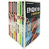 Introducing A Graphic Guide (Series 6) 8 Books Collection Set (Epigenetics,Genetics,Infinity,Relativity,Evolution, Stephen Ha