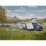 Fiamma Dachmarkise F80s Weiß 370cm Grau Markise Camping Sonnenschutz Wohnmobil Sonnendach Reisemobil Sport Freizeit