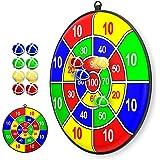 Lbsel kinderen Kerst Party Thema Game Dart Board met 8 Ballen kinderen bordspellen Speelgoed-Safe Dart Game-kids gift outdoor
