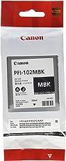 Canon 0894B001AA Serbatoio Inchiostro PFI-102MBK, Nero Opaco