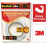 Scotch Double Sided Foam Tape (length 3m , width 24mm)