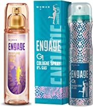 Engage W2 Perfume Spray For Women, 120ml and Engage G1 Cologne Spray For Women, 135ml