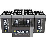 Varta Power on Demand Pila de 9 V Paquete de 10 unidades - inteligente, flexible y potente para consumidores móviles finales