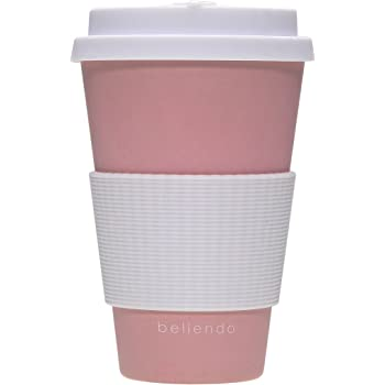 Bellendo Kaffeebecher To Go Bambus 400ml Coffee To Go Becher