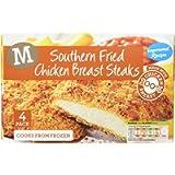 Morrisons Southern Fried Chicken Steaks, 380g (Frozen)