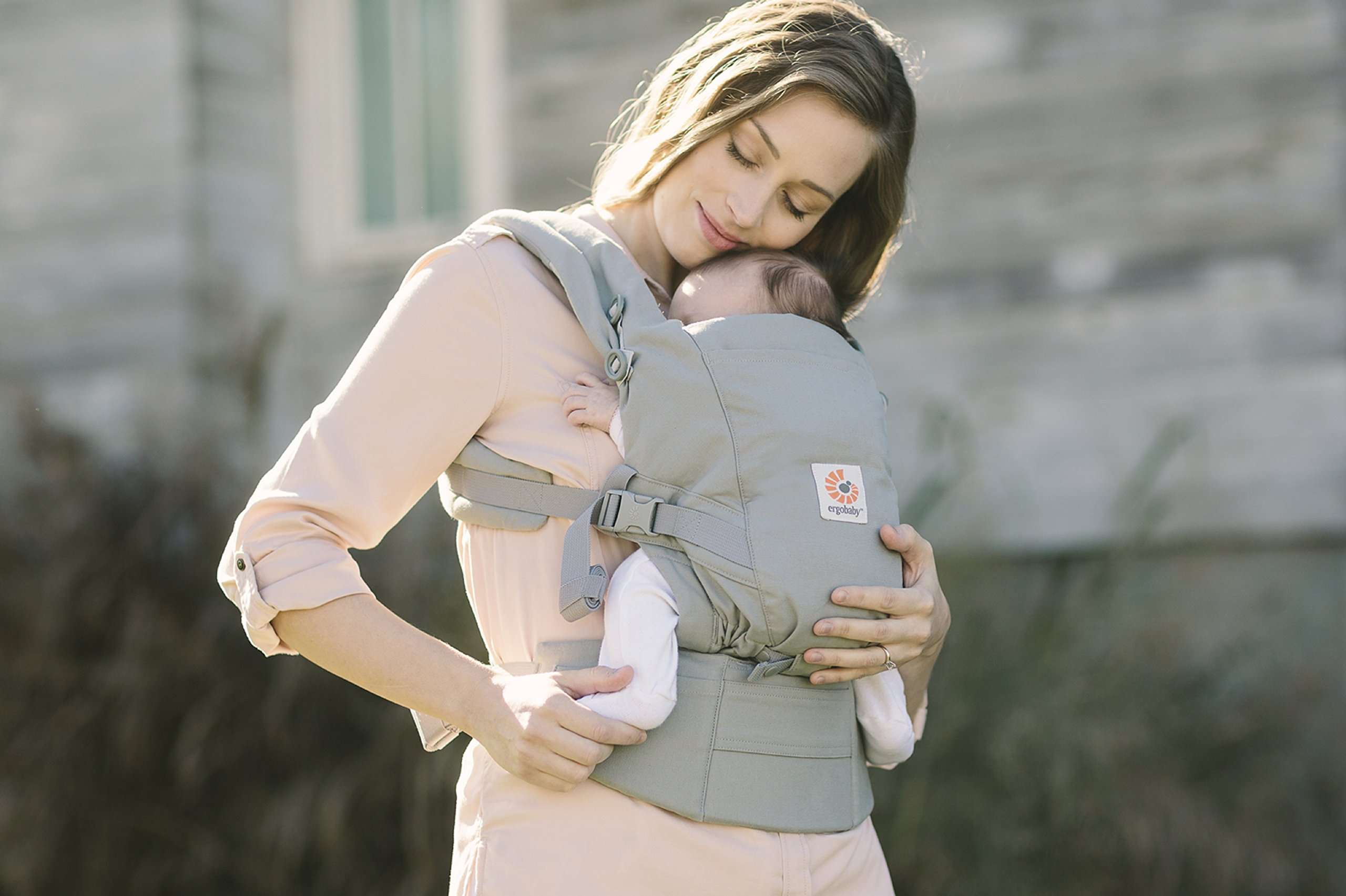 ErgoBaby Adapt Baby Carrier Grey Ergobaby Adapt to Every Baby Easy. Adjustable. Newborn to toddler. 8