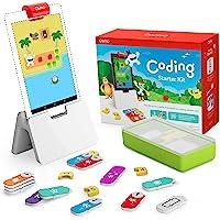 Osmo Coding Coffret Complet 3 jeux éducatifs interactifs-De 5 à 10 ans et + -Apprendre à coder, Codage & Problèmes de…