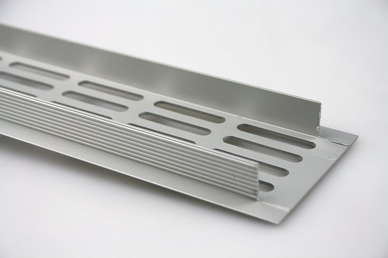 MS Beschläge Lüftungsgitter Stegblech Lüftung aus Aluminium 60mm x ...