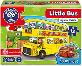 Orchard Toys Little Bus, Multi Color