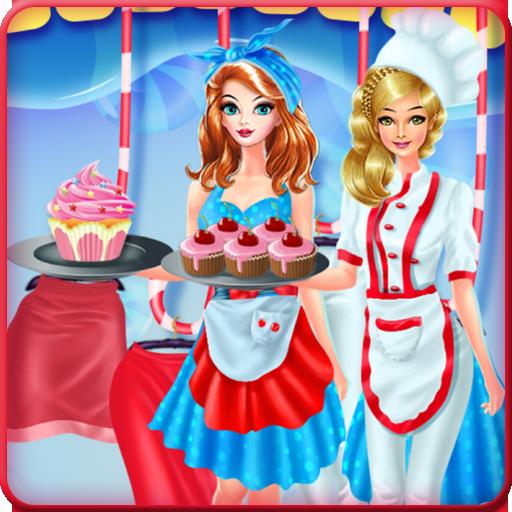 Dress Up Game Cupcakes Factory