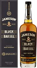 Jameson Black Barrel Irish Whiskey – Blended Irish Whiskey mit Jameson Single Irish Pot Still Whiskeys und seltenem Grain Whiskey – 1 x 0,7 L