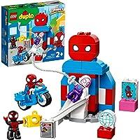 LEGO DUPLO Marvel Super Heroes Il Quartier Generale di Spider-Man, Set Giocattoli con Supereroi per Bambini di 2 Anni…