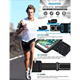 DEALPICK Multi Functional Outdoor Sports Armband Sweat Proof Running Armbag Casual Arm Package Bag Gym Fitness Cell Phone Bag